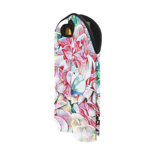 Secret Garden II by JamColors 2-Bottle Neoprene Wine Bag