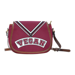 Vegan Cheerleader Saddle Bag/Large (Model 1649)