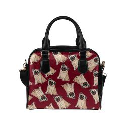 Pug Bags Shoulder Handbag (Model 1634)