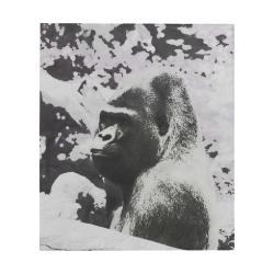 "Urban Pop Art Gorilla by JamColors Quilt 60""x70"""