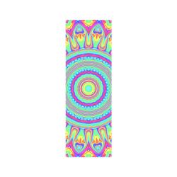 "Rainbow Mandala Poster 12""x36"""