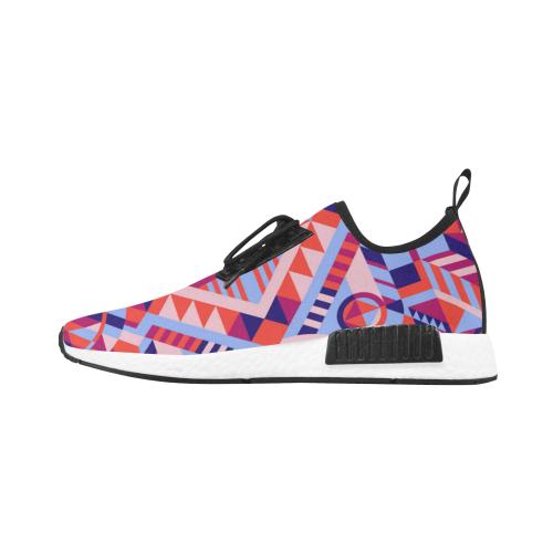Modern Geometric Pattern Men's Draco Running Shoes (Model 025)