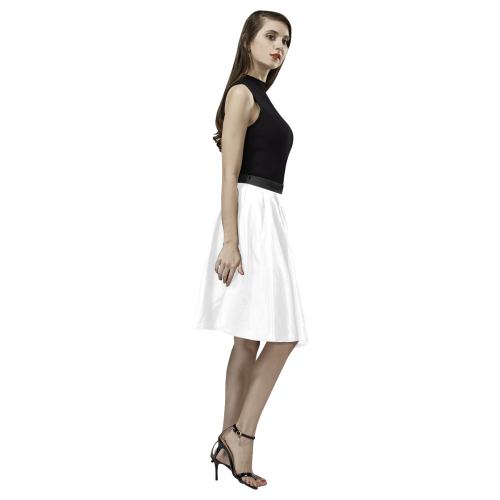 Mon Petit Chat Melete Pleated Midi Skirt (Model D15)