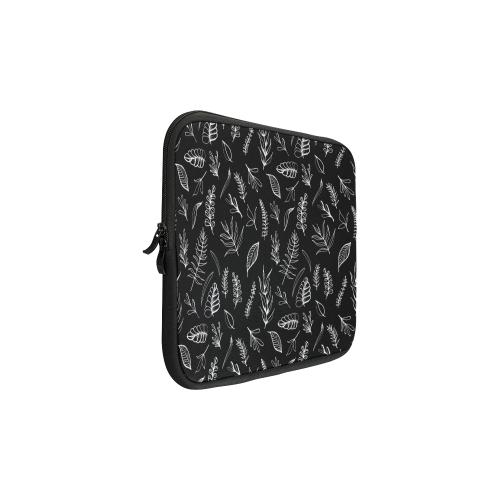 BLACK DANCING LEAVES Macbook Pro 13''
