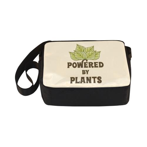 Powered by Plants (vegan) Classic Cross-body Nylon Bags (Model 1632)