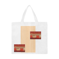 Kigrun by Vaatekaappi Canvas Tote Bag/Large (Model 1702)
