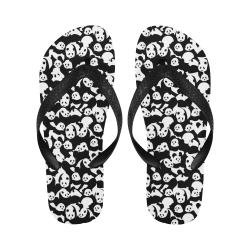 Panda Pattern Flip Flops for Men/Women (Model 040)