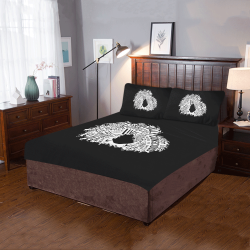 Afro Words Bedding 3-Piece Bedding Set