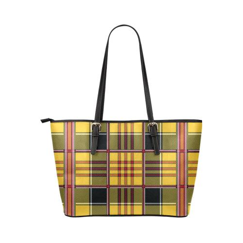 21tt Leather Tote Bag/Large (Model 1651)