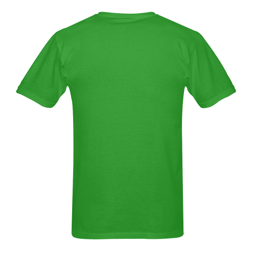 Head grn Men's T-Shirt in USA Size (Two Sides Printing)