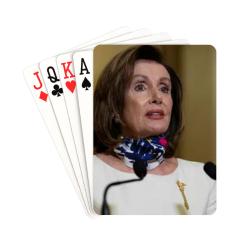 "Nancy Pelosi 1 Playing Cards 2.5""x3.5"""