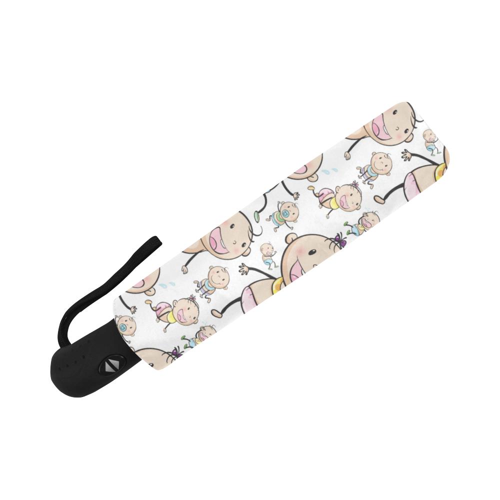 Cute Baby Auto-Foldable Umbrella (Model U04)