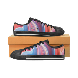 oil_b Women's Classic Canvas Shoes (Model 018)