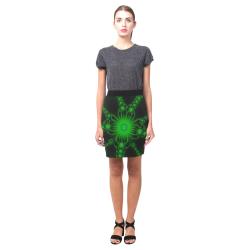 Green Flower Bloom Nemesis Skirt (Model D02)