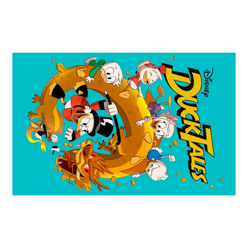 """DuckTales Poster 23""""x36"""""""