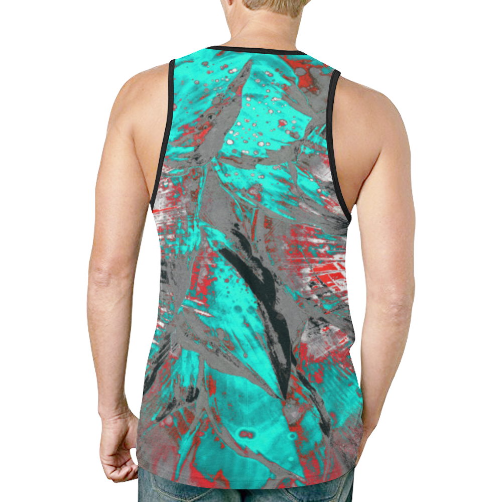 wheelVibe2_8500 3 low New All Over Print Tank Top for Men (Model T46)