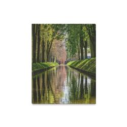 """Canal Dreams Canvas Print 16""""x20"""""""