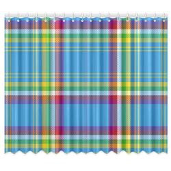 "Yukon Tartan Window Curtain 50""x84""(Two Piece)"