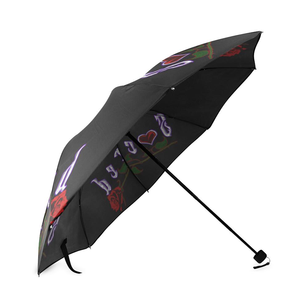 Sacred Triple Logo Umbrella Foldable Umbrella (Model U01)