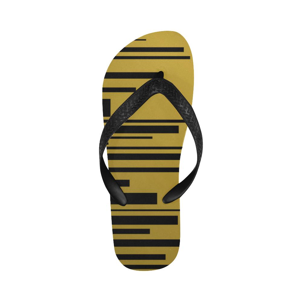 city of gold Flip Flops for Men/Women (Model 040)