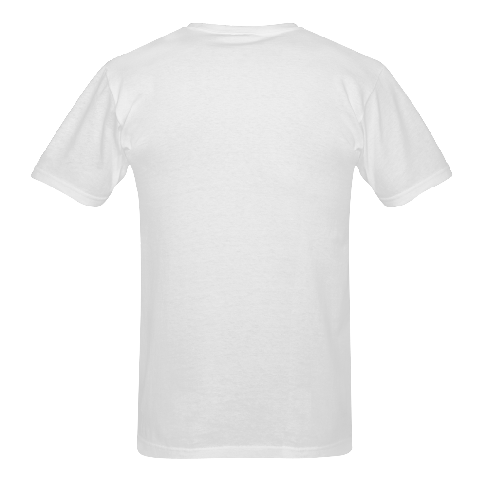 mouth trans Men's T-Shirt in USA Size (Two Sides Printing)