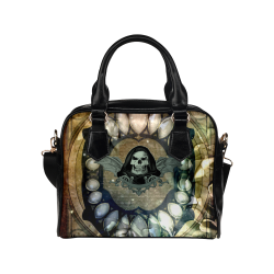 Awesome scary skull Shoulder Handbag (Model 1634)