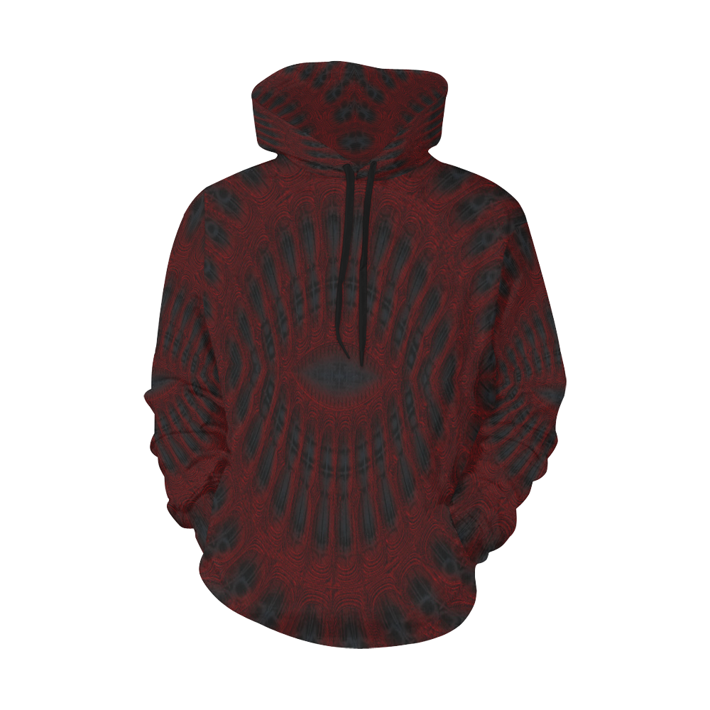 8000  EKPAH 4 low sml All Over Print Hoodie for Men/Large Size (USA Size) (Model H13)