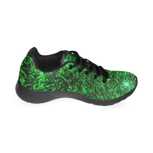 Sparkling Green by Jera Nour Women's Running Shoes/Large Size (Model 020)