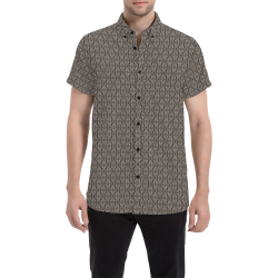 Model #88c| Men's All Over Print Short Sleeve Shirt (Model T53)