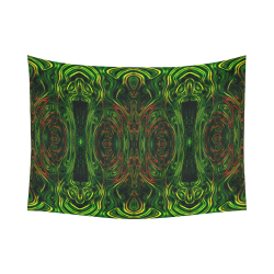 """trip like I do.. fractalus Cotton Linen Wall Tapestry 80""""x 60"""""""