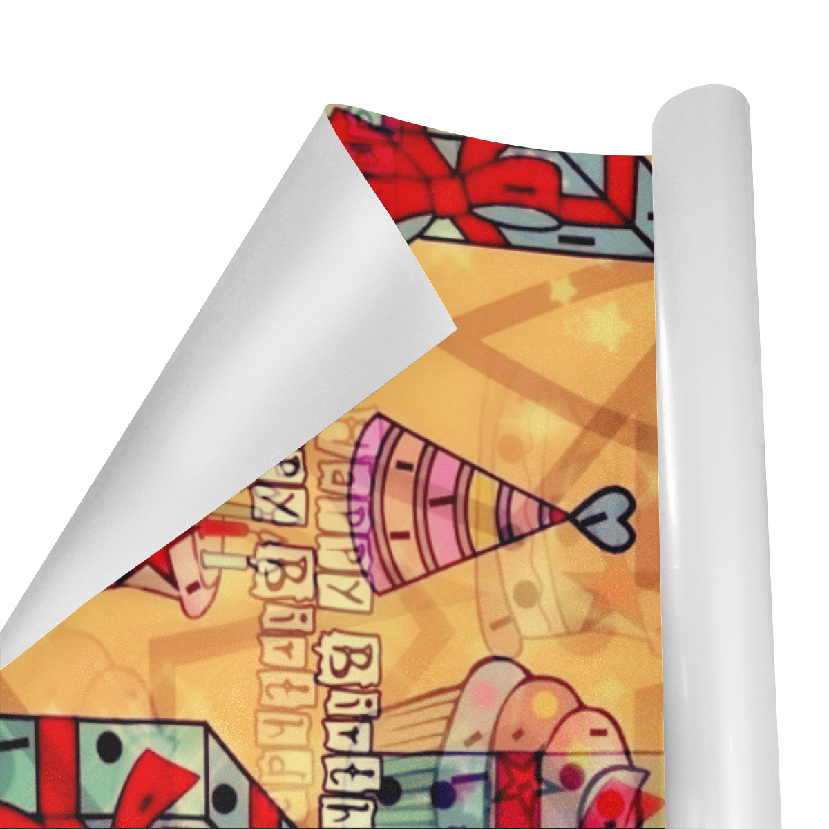 """Birthday by Nico Bielow Gift Wrapping Paper 58""""x 23"""" (1 Roll)"""