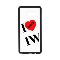 I heart IW Rubber Case for Samsung Galaxy Note7