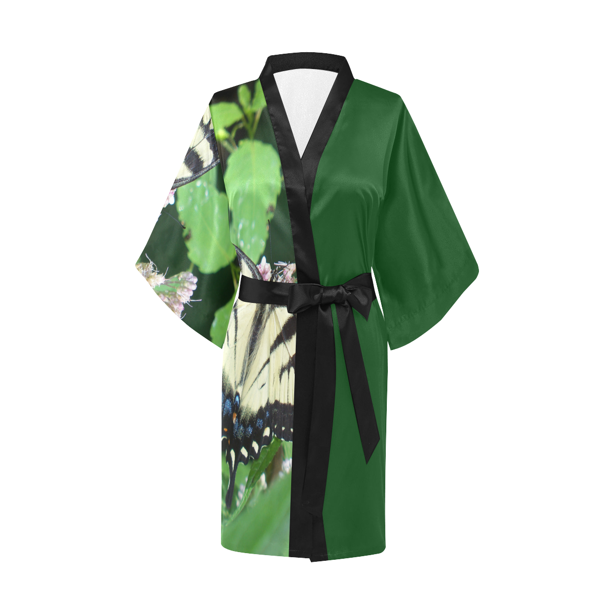 Canadian Tiger Swallowtail Butterfly Kimono Robe