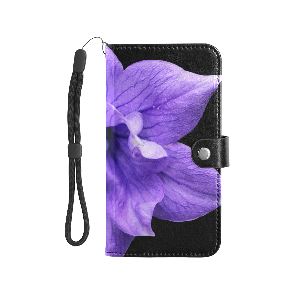 Balloon Flower Flip Leather Purse for Mobile Phone/Large (Model 1703)