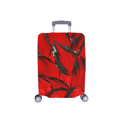 "leafs_abstract TRY2 06 Luggage Cover/Small 18""-21"""