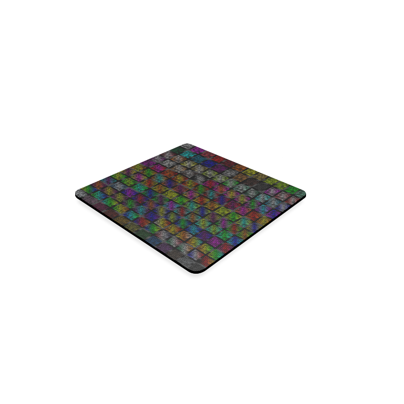 Ripped SpaceTime Stripes Collection Square Coaster