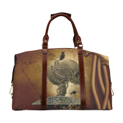 Mechanical skull Classic Travel Bag (Model 1643) Remake