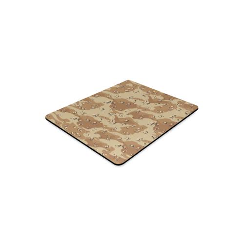 Vintage Desert Brown Camouflage Rectangle Mousepad