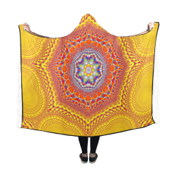 Face to Face Hooded Blanket 60''x50''