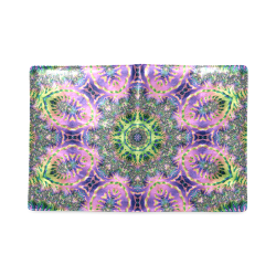 Rainbow Fractal Mandala Custom NoteBook B5
