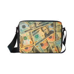 US DOLLARS 2 Classic Cross-body Nylon Bags (Model 1632)
