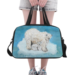 Polar Bears Fitness Handbag (Model 1671)