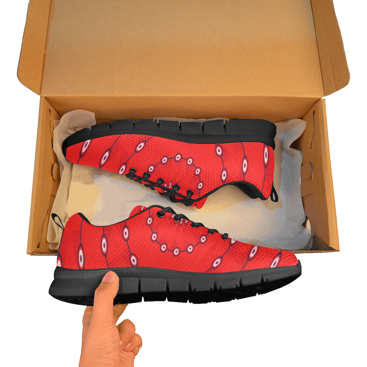 10000 art324 11 Men's Breathable Running Shoes/Large (Model 055)