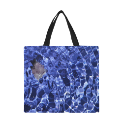 Amethyst Vibes All Over Print Canvas Tote Bag/Large (Model 1699)