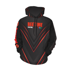 2beetime0 hoodie All Over Print Hoodie for Men/Large Size (USA Size) (Model H13)
