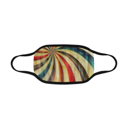 abstract rainbow swirl Mouth Mask