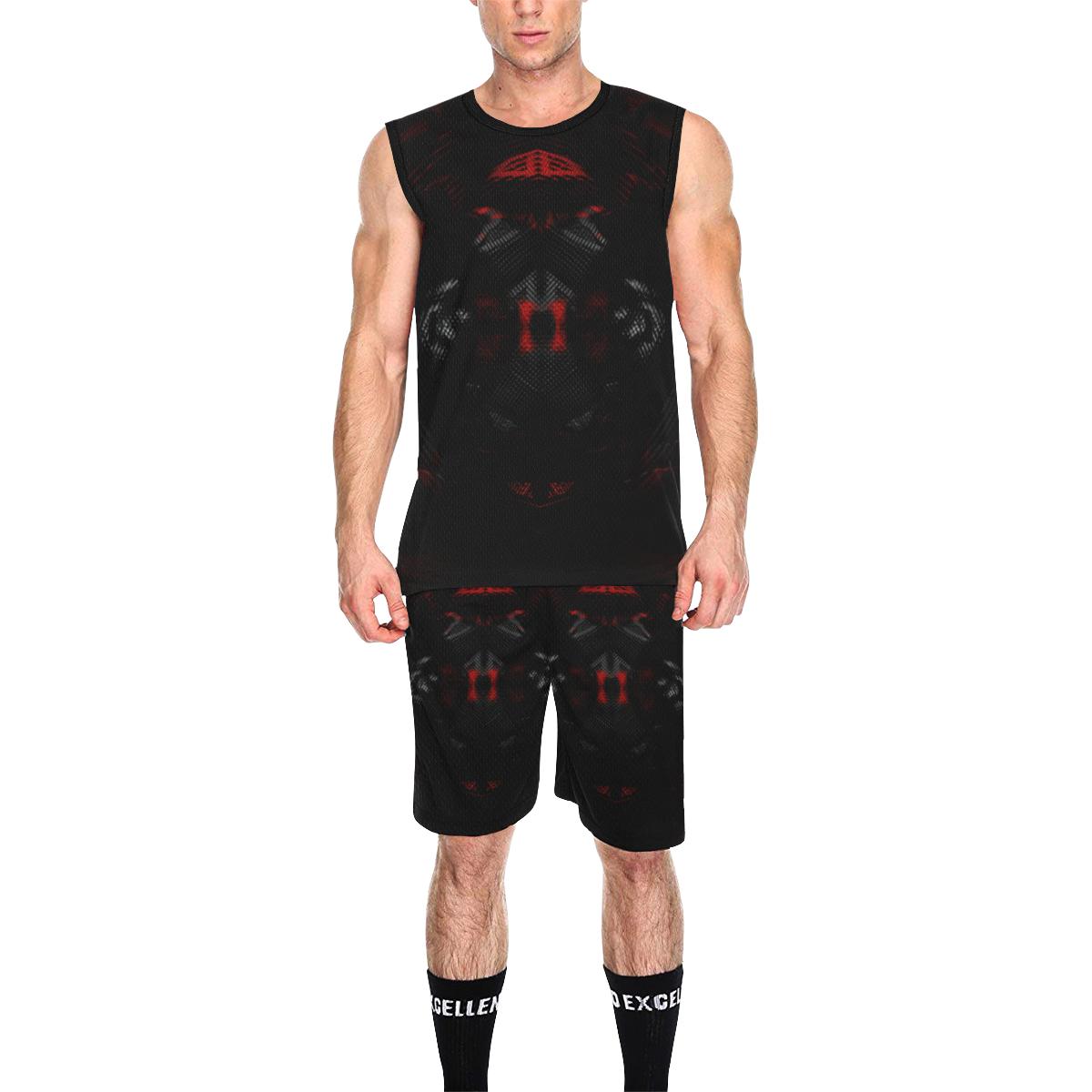 5000DUBLE 5 All Over Print Basketball Uniform
