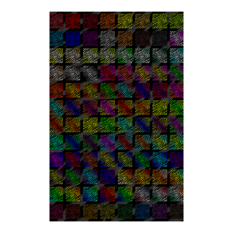 """Ripped SpaceTime Stripes Collection Poster 23""""x36"""""""