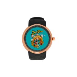 DuckTales Men's Rose Gold Resin Strap Watch(Model 308)