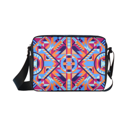 Modern Geometric Pattern Classic Cross-body Nylon Bags (Model 1632)